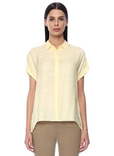 NetWork Kısa Kollu Gömlek Sarı
